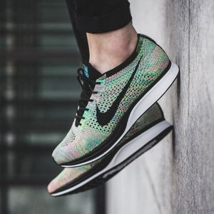 Nike Flyknit Racer Multi-Color Running Shoes
